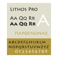 Fonts Lithos Pro For Desktop