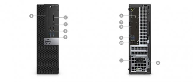 ขาย Dell Optiplex 5040 Pcs Desktop ราคาถูก