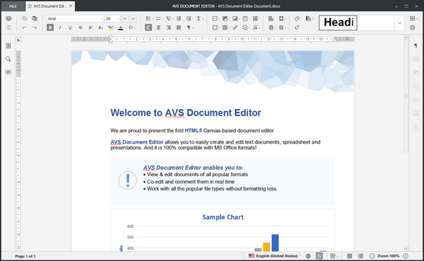 AVS Document Editor