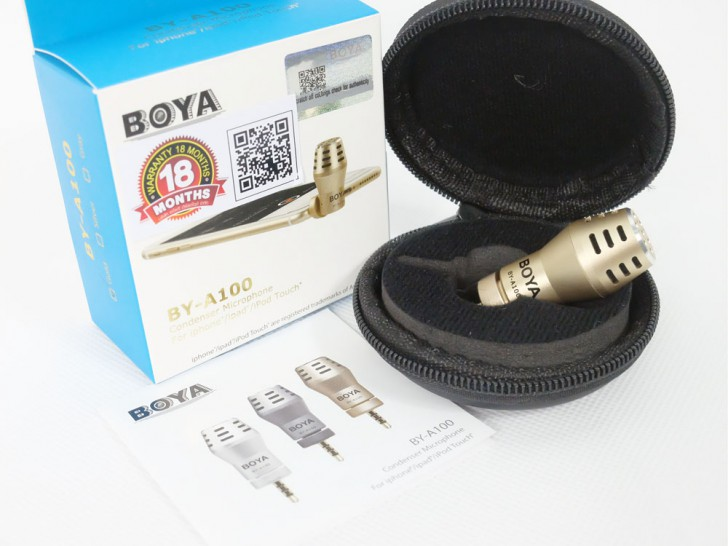 BOYA BY-A100 Condenser Microphone for Smartphone