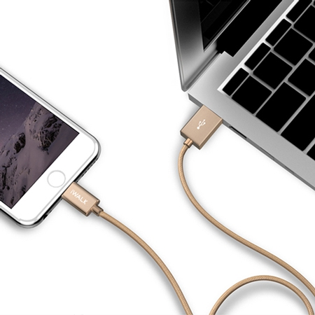 iWalk Steel L Lightning Cable for iPhone
