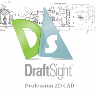 DraftSight Professional 2019 (2D CAD)