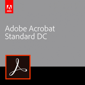 Adobe Acrobat Standard DC (Subscription License)
