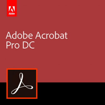 Adobe Acrobat Pro DC (Subscription License)