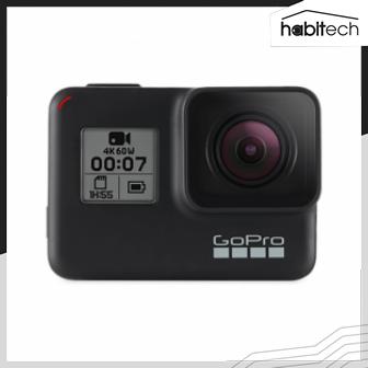 ขาย GoPro HERO7 กล้องแอคชั่นคาเมร่า หน้าจอเป็นระบบสัมผัสกันน้ำได้ลึกถึง 60 เมตร การสั่งการด้วยเสียงได้ถึง 16 แบบ