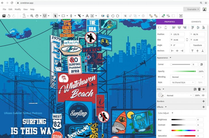 CorelDRAW Graphics Suite 2020 - For Windows