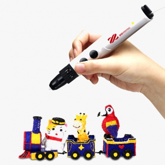 ปากกา 3 มิติ ปากกาวาดรูป 3 มิติ สำหรับเด็ก da Vinci 3D Pen Cool ใช้วัสดุ PCL ที่มีอุณหภูมิหลอมละลายต่ำ หัวปากกาไม่มีความร้อน ปลอดภัยสำหรับเด็ก