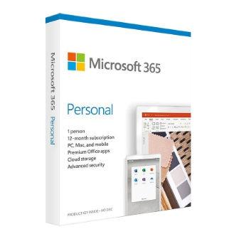 ขายชุดโปรแกรม Microsoft 365 Personal ลิขสิทธิ์แท้ สำหรับบุคคล ของ Microsoft Office ใช้ได้ทั้ง Word Excel PowerPoint OneNote Outlook มีพื้นที่เก็บไฟล์ OneDrive