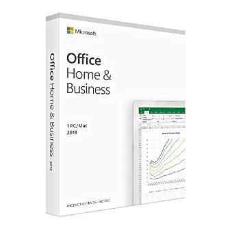 Office Home and Business 2019 ชุดโปรแกรมออฟฟิศมี Word Excel PowerPoint OneNote Outlook สำหรับใช้ที่บ้าน งานธุรกิจ ไม่ต้องต่ออายุรายปี Part Number : T5D-03249)