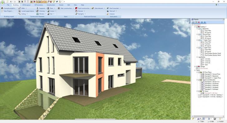 โปรแกรมออกแบบ 2 มิติ และ 3 มิติ Ashampoo 3D CAD Professional