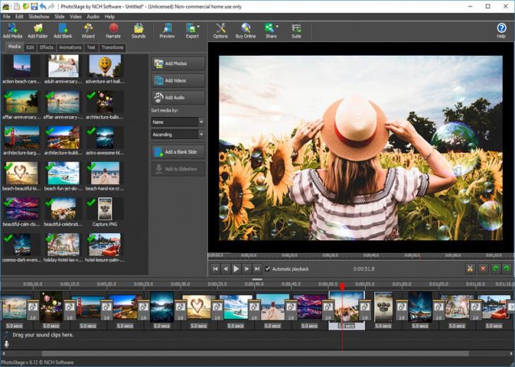 NCH PhotoStage Slideshow