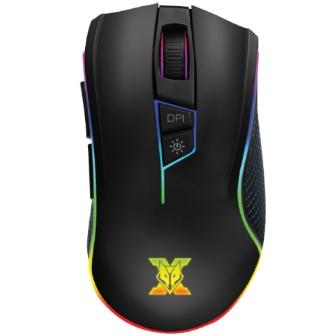 เมาส์เกมมิ่ง เมาส์เล่นเกม NUBWO VALKYRIE X35 Pro-Gaming Mouse สำหรับเกมเมอร์ เคลื่อนไหวรวดเร็ว แม่นยำ มีโหมดไฟ LED 3 แบบ วัสดุพรีเมียม และสายถัก แข็งแรง ทนทาน