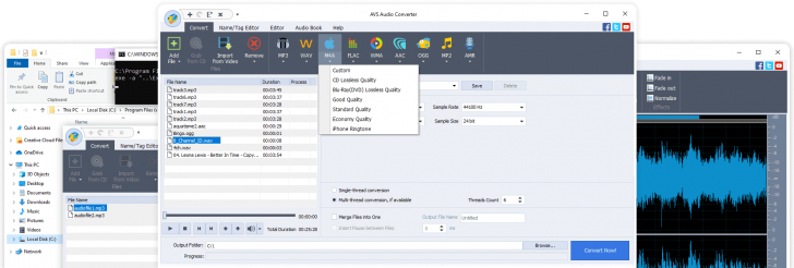 AVS4YOU Multimedia Suite for Windows