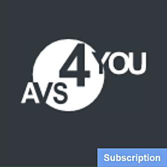 AVS4YOU Multimedia Suite for Windows - Subscription License รวมชุด 5 โปรแกรมตัดต่อวิดีโอ ตัดต่อเสียง แปลงไฟล์เสียง ลิขสิทธิ์รายปี ครบเครื่องด้านมัลติมีเดีย