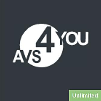 AVS4YOU Multimedia Suite for Windows Unlimited - Subscription License รวมชุด 5 โปรแกรมตัดต่อวิดีโอ ตัดต่อเสียง แปลงไฟล์เสียง ลิขสิทธิ์รายปี ครบเครื่อง