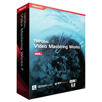 โปรแกรม TMPGEnc Video Mastering Works 7 โปรแกรมตัดต่อวิดีโอคุณภาพสูง รองรับการ Import และ Export ไฟล์วิดีโอยอดนิยมมากมาย และไฟล์ความละเอียดสูง ระดับ 4K และ 8K