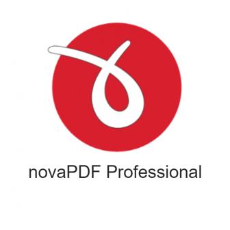 โปรแกรม novaPDF Professional โปรแกรมแปลงไฟล์ PDF สร้างไฟล์ PDF จากไฟล์เอกสารต่างๆ ได้อย่างหลากหลาย สามารถลงลายเซ็นดิจิทัล ตั้งค่าระบบความปลอดภัยของไฟล์ PDF