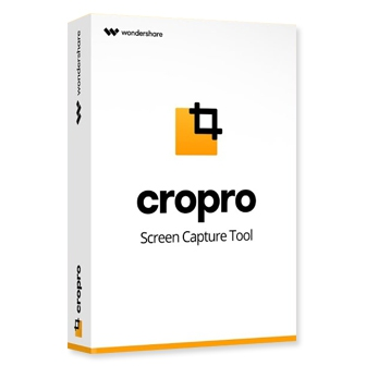 Wondershare Cropro for Windows โปรแกรมจับภาพหน้าจอ แคปเจอร์หน้าจอ มีเครื่องมือแต่งภาพ ใส่คำอธิบาย เบลอภาพได้ เลือกเฉพาะส่วนที่ต้องการได้อย่างยืดหยุ่น ใช้งานง่าย