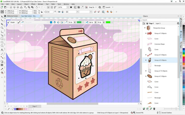 CorelDRAW Graphics Suite 2021 for Windows