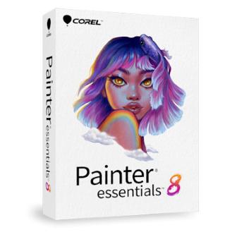 Corel Painter Essentials 8 for Windows โปรแกรมวาดรูปดิจิทัล สำหรับผู้เริ่มต้น มือใหม่ ใช้งานง่าย แปลงภาพถายให้เป็นภาพวาดได้ มีเครื่องมือ ฟังก์ชันหลากหลาย