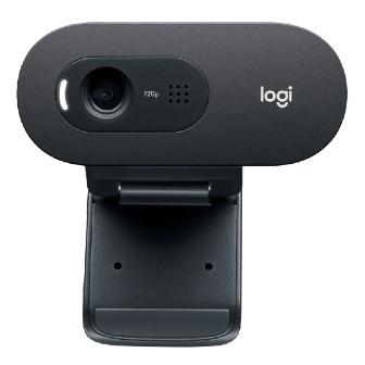กล้องเว็บแคม Logitech C505e HD พร้อมไมค์ระยะไกล ความละเอียดสูง HD 720p ที่ 30fps ภาพชัด เสียงดี ตัดเสียงรบกวนได้ สายยาว 2 ม. ตอบโจทย์ประชุมทางไกล Work from Home
