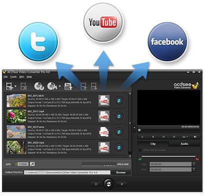 โปรแกรมแปลงไฟล์วิดีโอ ACDSee Video Converter