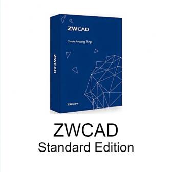 โปรแกรมออกแบบ 2 มิติ ZWCAD 2021 Standard Edition โปรแกรมออกแบบวิศวกรรม 2D เทียบเท่า AutoCAD Lite ในราคาถูก ใช้งานง่าย เสียเงินค่าลิขสิทธิ์ครั้งเดียวไม่เสียรายปี