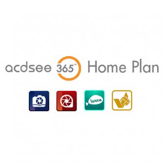 ACDSee 365 Home Plan ชุดโปรแกรมแต่งรูป ตัดต่อวิดีโอ แปลงไฟล์วิดีโอ สำหรับใช้งานส่วนตัว (ติดตั้งได้ 5 เครื่อง) ฟีเจอร์ครบ พร้อมพื้นที่จัดเก็บบนคลาวด์ 50 GB.