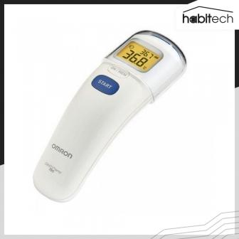 ขาย OMRON MC-720 เครื่องวัดไข้แบบยิงหน้าผาก เครื่องวัดอุณหภูมิน้ำนมให้ทารก เครื่องวัดอุณหภูมิห้อง หน้าจอมีไฟส่องสว่าง แม่นยำสูง แบตเตอรี่ใช้ได้ 2,500 ครั้ง