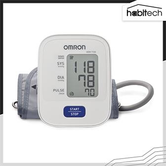 OMRON HEM-7120 เครื่องวัดความดันโลหิตดิจิทัล (Digital Blood Pressure Monitor) แบบสอดแขน ทำงานง่าย ด้วยสัมผัสเดียว พกพาสะดวก ผ่านการรับรองทางการแพทย์