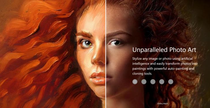 โปรแกรมวาดรูปสำหรับมืออาชีพ Corel Painter