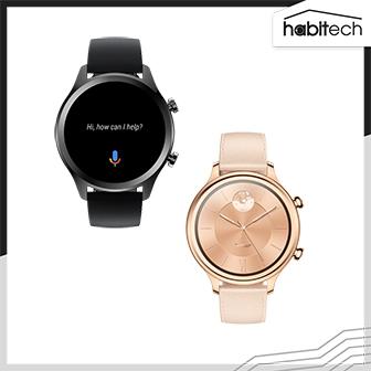 นาฬิกาอัจฉริยะ TicWatch C2+ มีฟีเจอร์สุขภาพ โหมดกีฬามากมาย Ram 1 GB. ระบบ WearOS by Google ดีไซน์สวยหรู ใช้เซนเซอร์ระบบ AI ตรวจจับการเคลื่อนไหวของร่างกาย