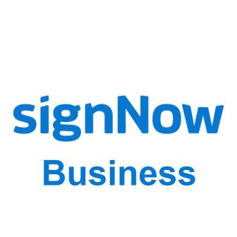 signNow Business โปรแกรมเซ็นเอกสารอิเล็กทรอนิกส์ (E-Signature) เซ็นชื่อ รวบรวมลายเซ็น ติดตามการเซ็นชื่อ ครบวงจร รุ่นธุรกิจ ประสานการทำงานกับการเก็บไฟล์บนคลาวด์