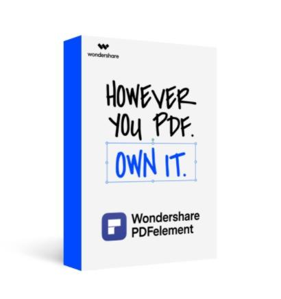 โปรแกรมสร้าง และจัดการไฟล์เอกสาร Wondershare PDFelement