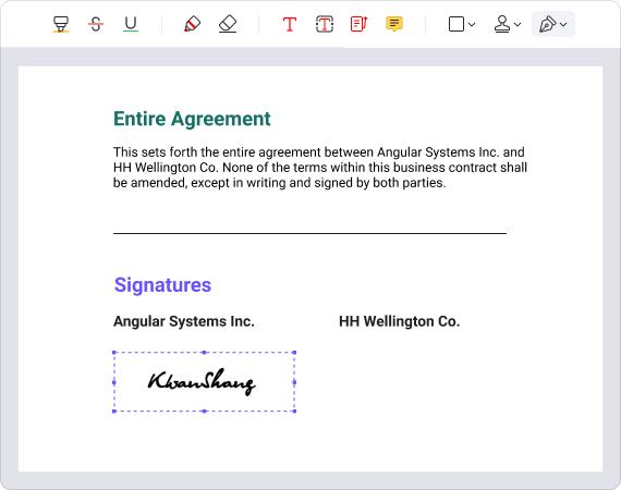 โปรแกรมสร้าง และจัดการไฟล์เอกสารWondershare PDFelement