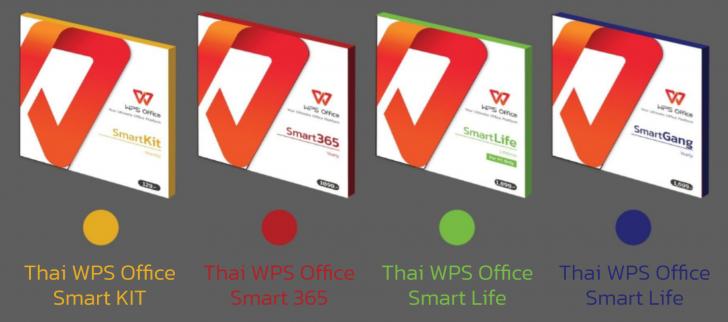 ชุดโปรแกรมจัดการสํานักงาน ที่มีลิขสิทธิ์ถูกต้องตามกฎหมายราคาถูก Thai WPS Office