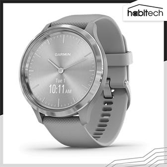 Garmin vívomove 3 นาฬิกาอัจฉริยะระบบ Hybrid มี GPS ดีไซน์สวยหรู ติดตามสุขภาพ การออกกำลังกาย การนอนหลับ เชื่อมต่อสมาร์ทโฟน รับการแจ้งเตือนสำคัญได้ หน้าจอ 44 มม.