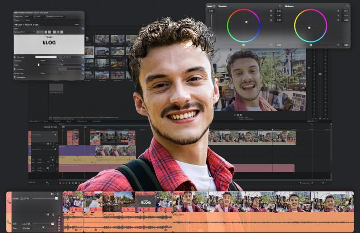 โปรแกรมตัดต่อวิดีโอ รุ่นเริ่มต้น VEGAS Edit