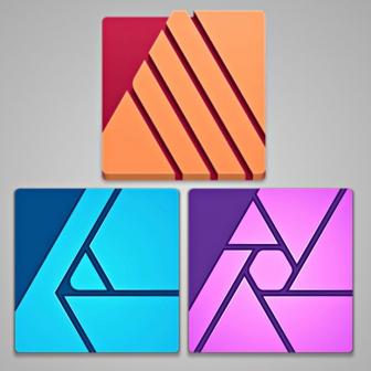 ชุดโปรแกรมแต่งรูป วาดรูป ออกแบบสิ่งพิมพ์Affinity All Apps for Windows