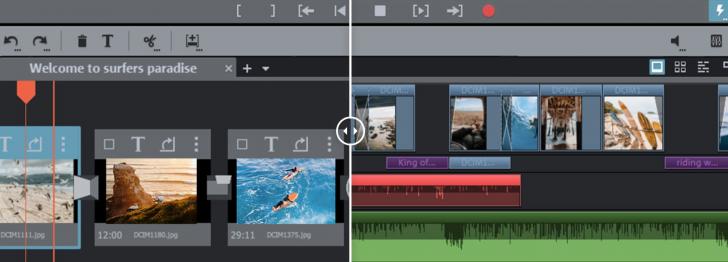 โปรแกรมตัดต่อวิดีโอVEGASMovie Studio