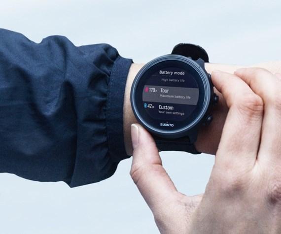 นาฬิกาอัจฉริยะ มี GPS สำหรับกิจกรรมกลางแจ้ง และมัลติสปอร์ต SUUNTO 9 BARO