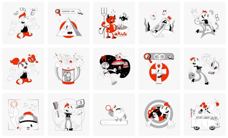 สต๊อกภาพวาดประกอบคุณภาพสูง Icons8 Illustrations