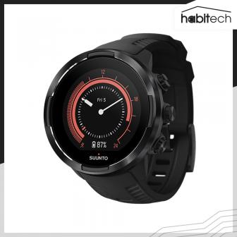ขายนาฬิกาอัจฉริยะ SUUNTO 9 BARO มี GPS ติดตามการออกกำลังกายกลางแจ้ง ฟิตเนส ว่ายน้ำ กันน้ำ 50 เมตร เซนเซอร์วัดชีพจร มี Barometer วัดระดับความสูง ตรวจสอบสภาพอากาศ