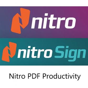 Nitro PDF Productivity ชุดโปรแกรมจัดการเอกสาร PDF และ โซลูชันลายเซ็นอิเล็กทรอนิกส์ ( eSignature) ประสิทธิภาพสูง ลิขสิทธิ์รายปี รองรับ Windows และ macOS