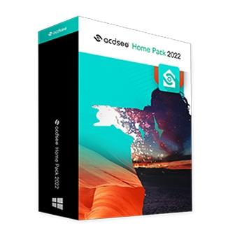 ACDSee Home Pack 2022 ชุดโปรแกรมจัดการรูปภาพ ตกแต่งภาพ ตัดต่อวิดีโอ แปลงไฟล์วิดีโอ สุดคุ้มในชุดเดียว มาพร้อมโปรแกรม 4 in 1 แต่ละโปรแกรมติดตั้งได้ถึง 3 อุปกรณ์