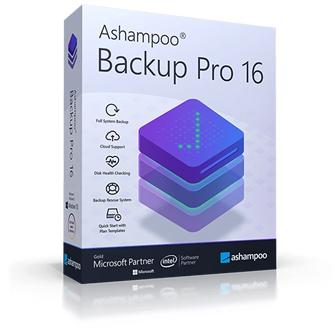 Ashampoo Backup Pro 16 โปรแกรมสำรองข้อมูล ใช้กู้คืนไฟล์ข้อมูล ตั้งเวลา Backup ได้ ระบบการทำงานรวดเร็ว ปลอดภัย ใช้งานง่าย ฟีเจอร์ไม่ซับซ้อน ประสิทธิภาพสูง