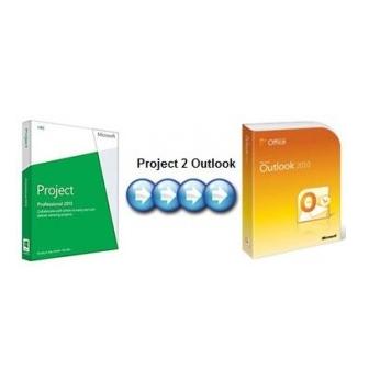 โปรแกรม Project 2 Outlook (P2O) โปรแกรมปลั๊กอิน ซิงค์ข้อมูลจาก Microsoft Project ไปยัง Microsoft Outlook ฟีเจอร์ครบ แจ้งการนัดหมายทางอีเมลได้ ส่งออกข้อมูลได้
