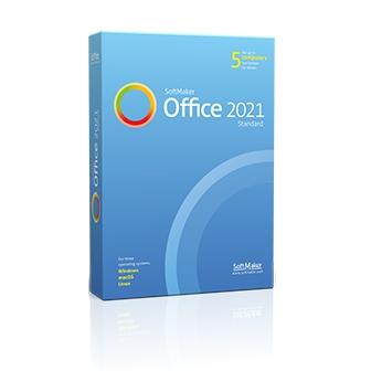 SoftMaker Office Standard 2021 ชุดโปรแกรมจัดการสํานักงาน รุ่นมาตรฐาน มีโปรแกรมเอกสาร, สเปรดชีต และนำเสนองาน รองรับ Spellcheck 20 ภาษา ราคาถูก