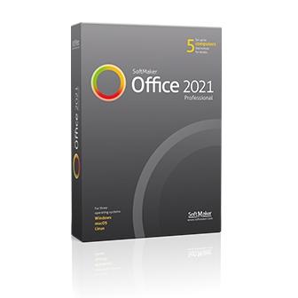 SoftMaker Office Professional 2021 ชุดโปรแกรมจัดการสํานักงาน รุ่นโปร มีโปรแกรมเอกสารสเปรดชีต นำเสนองาน รองรับ Spellcheck 20 ภาษา ทำ e-Book ได้