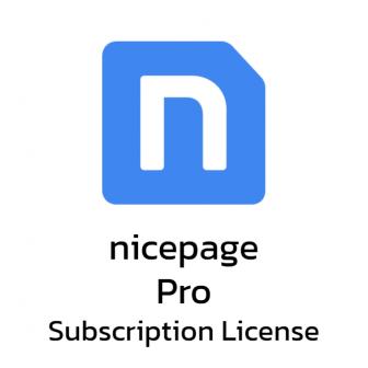 Nicepage Pro - Subscription License โปรแกรมทำเว็บ รุ่นโปร ลิขสิทธิ์รายปี ออกแบบเว็บไซต์ได้ไม่จำกัดจำนวน รองรับ WordPress และ Joomla ออกแบบง่าย สไตล์ลากและวาง
